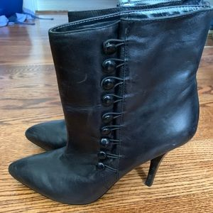 Nine West Black Leather Boot